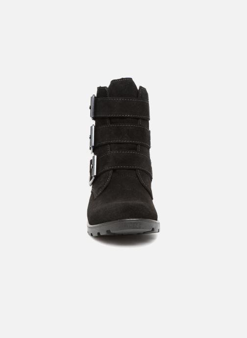 Bottes Ricosta Zoey-tex Noir vue portées chaussures