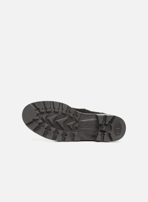 Laarzen Ricosta Zoey-tex Zwart boven
