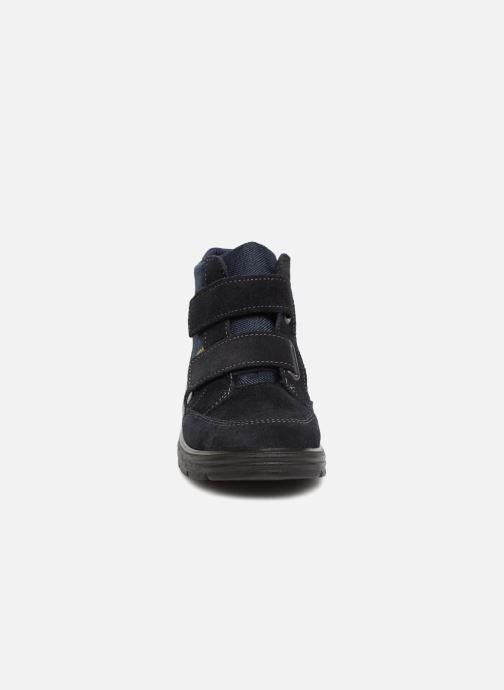 Baskets Ricosta Carlo-tex Bleu vue portées chaussures