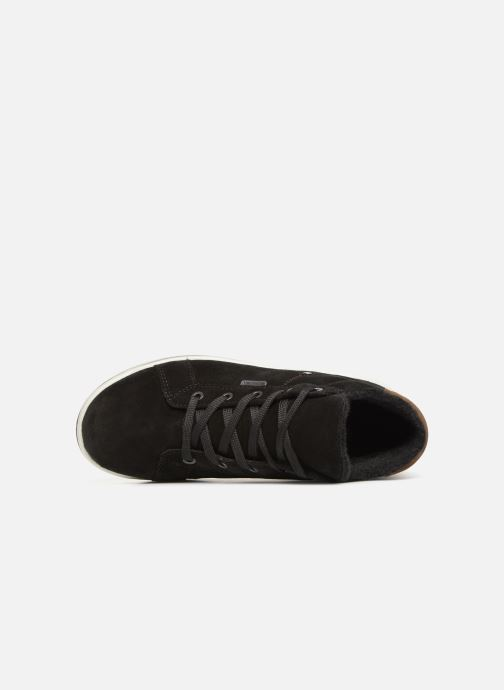 Trainers Ricosta Mael-tex Black view from the left
