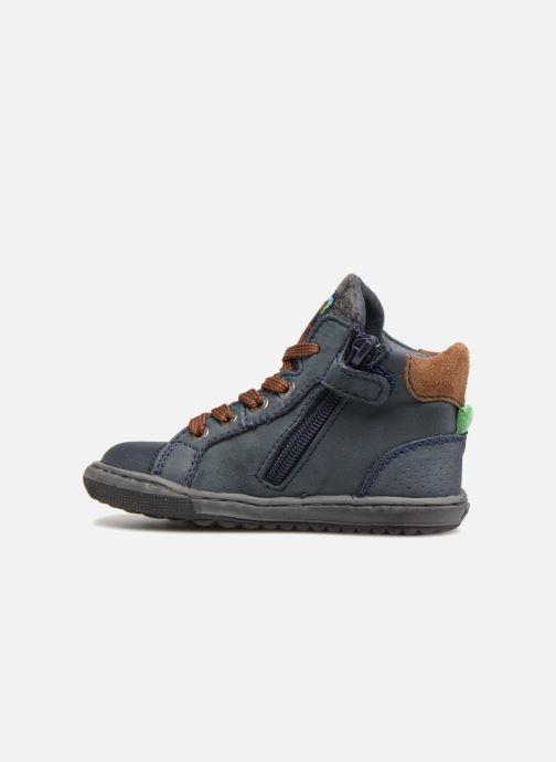 Bottines et boots Shoesme Stanislas Bleu vue face