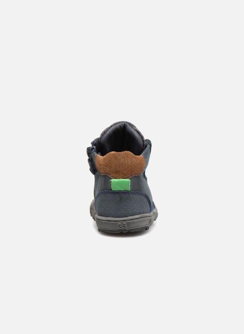 Bottines et boots Shoesme Stanislas Bleu vue droite