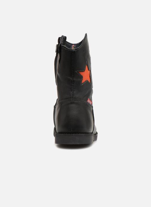 Bottes Shoesme Suzanna Noir vue droite