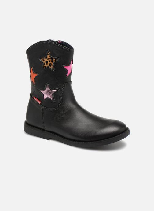 Bottes Shoesme Suzanna Noir vue détail/paire