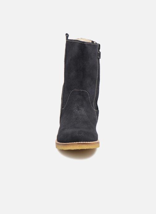 Bottes Shoesme Sonia Bleu vue portées chaussures