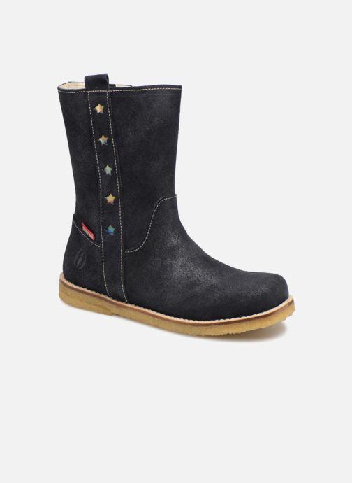 Bottes Shoesme Sonia Bleu vue détail/paire