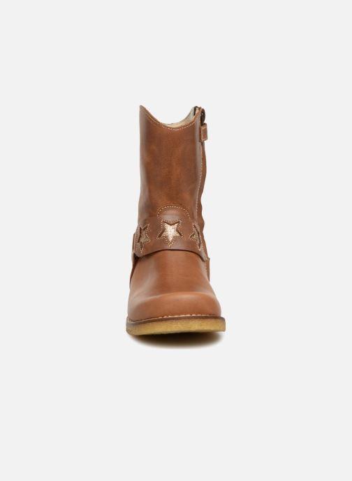 Bottes Shoesme Solene Marron vue portées chaussures