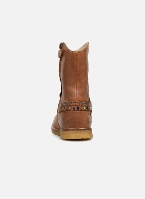 Bottes Shoesme Solene Marron vue droite