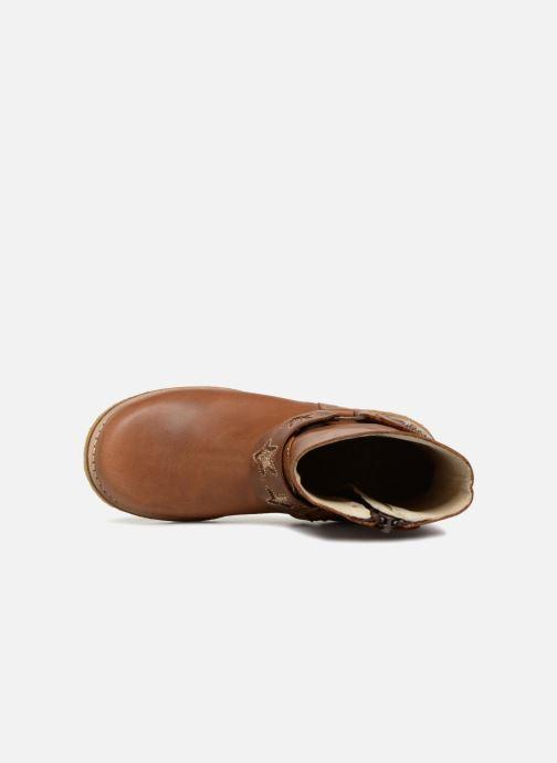 Bottes Shoesme Solene Marron vue gauche