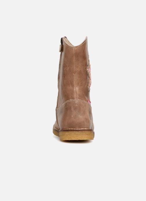 Bottes Shoesme Sandra Beige vue droite