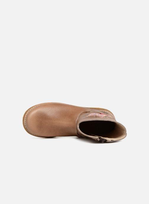 Bottes Shoesme Sandra Beige vue gauche