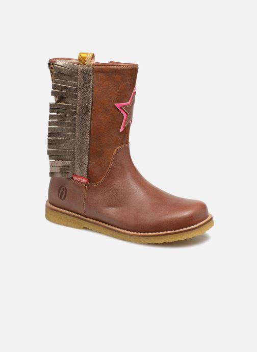 Bottes Shoesme Selena Marron vue détail/paire