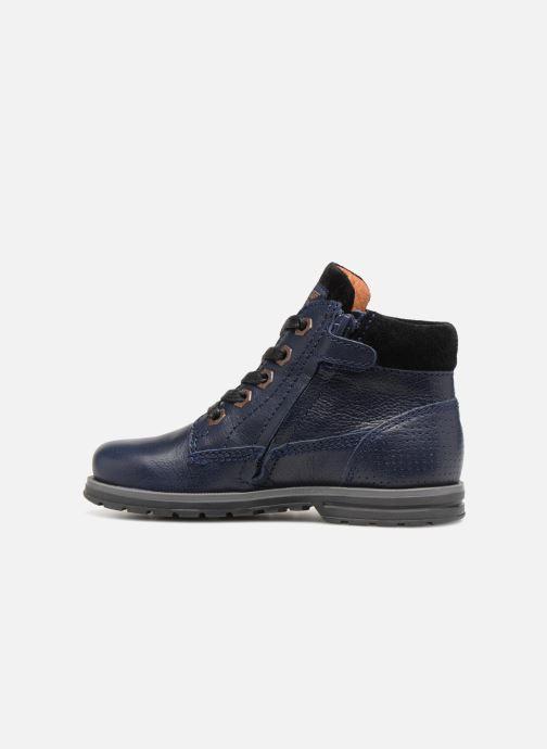 Bottines et boots Shoesme Steven Bleu vue face