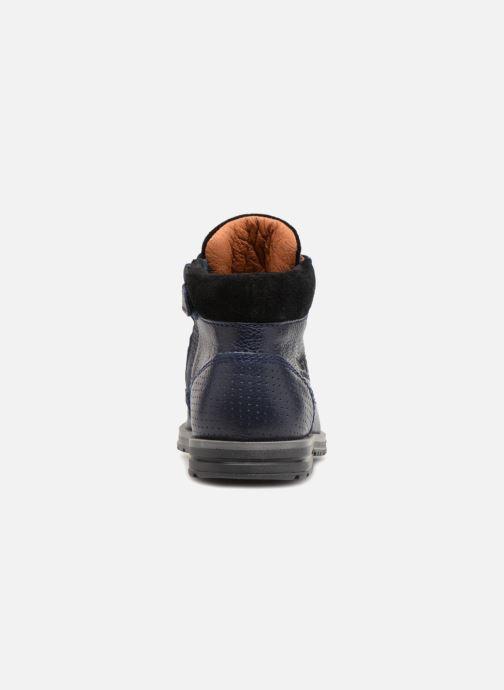 Bottines et boots Shoesme Steven Bleu vue droite