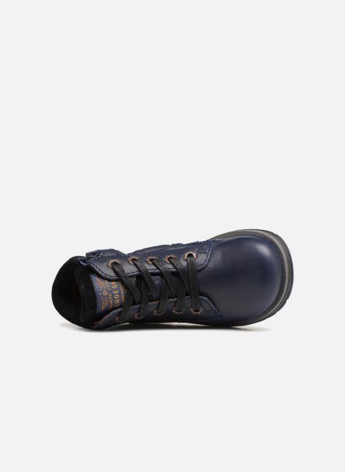 Bottines et boots Shoesme Steven Bleu vue gauche