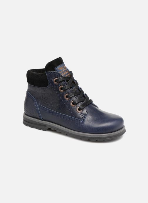 Bottines et boots Shoesme Steven Bleu vue détail/paire