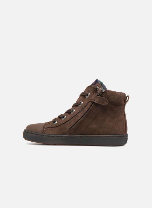Baskets Shoesme Sean Marron vue face