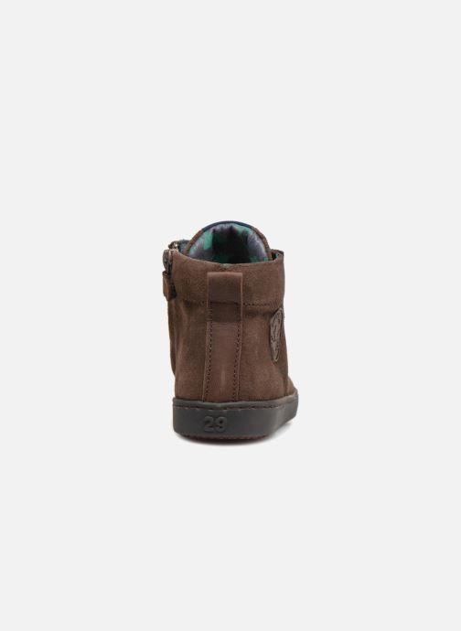 Baskets Shoesme Sean Marron vue droite