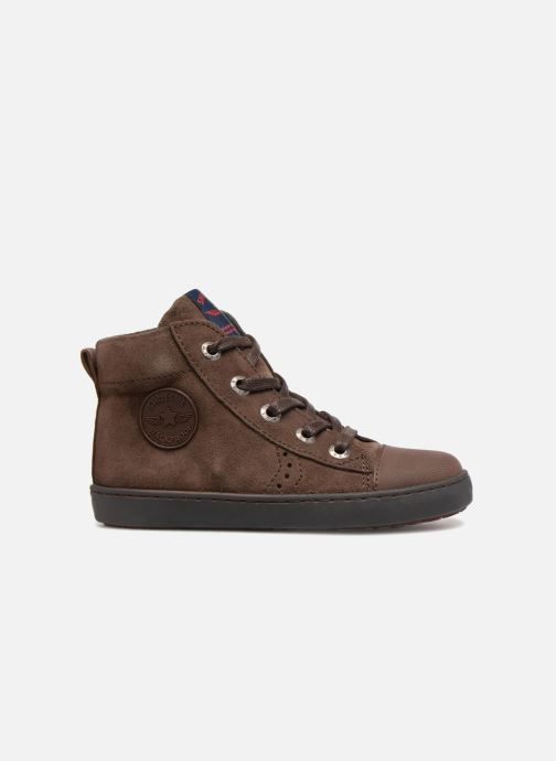 Sneakers Shoesme Sean Bruin achterkant