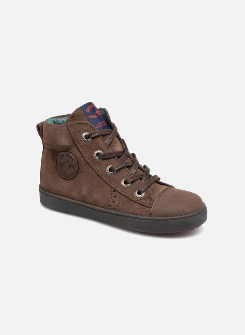 Baskets Shoesme Sean Marron vue détail/paire