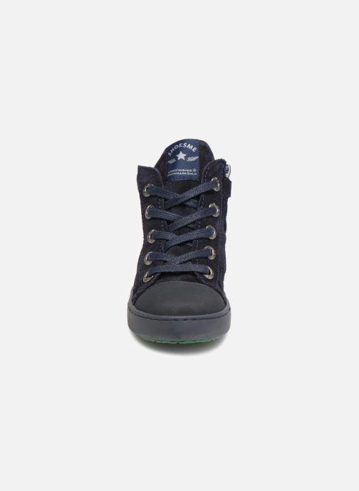 Baskets Shoesme Sean Bleu vue portées chaussures