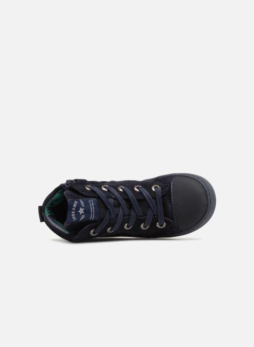 Baskets Shoesme Sean Bleu vue gauche