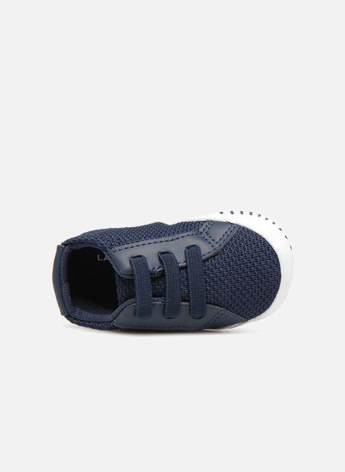 Pantoffels Lacoste L 1212 Crib 318 1 CAB Blauw links