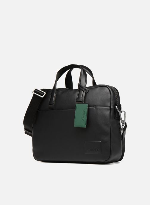 Computertassen Calvin Klein TASK FORCE 1 GUSSET LAPTOP BAG Zwart model