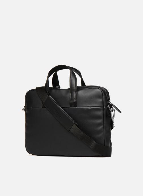 Computertassen Calvin Klein TASK FORCE 1 GUSSET LAPTOP BAG Zwart rechts