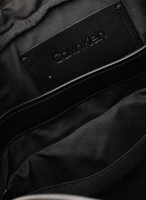 Computertassen Calvin Klein TASK FORCE 1 GUSSET LAPTOP BAG Zwart achterkant