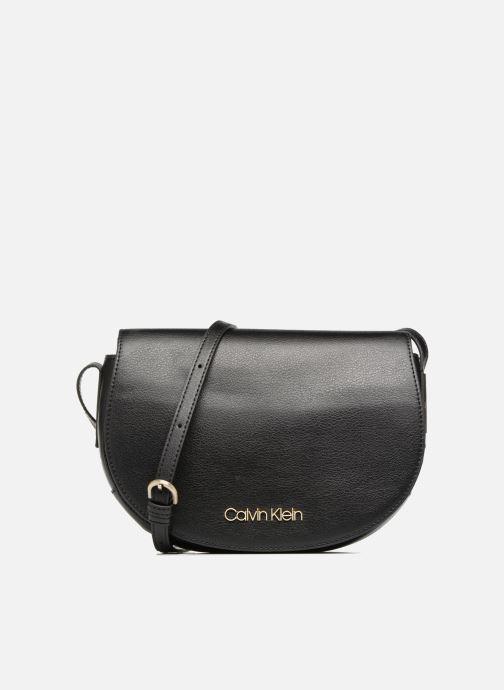1ca271ec707ea Handtaschen Calvin Klein FRAME MED SADDLE BAG schwarz detaillierte  ansicht modell