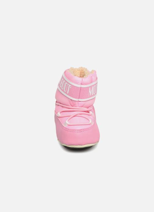 Chaussures de sport Moon Boot Moon Boot Crib 2 Rose vue portées chaussures