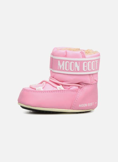 Sportschuhe Moon Boot Moon Boot Crib 2 rosa ansicht von vorne