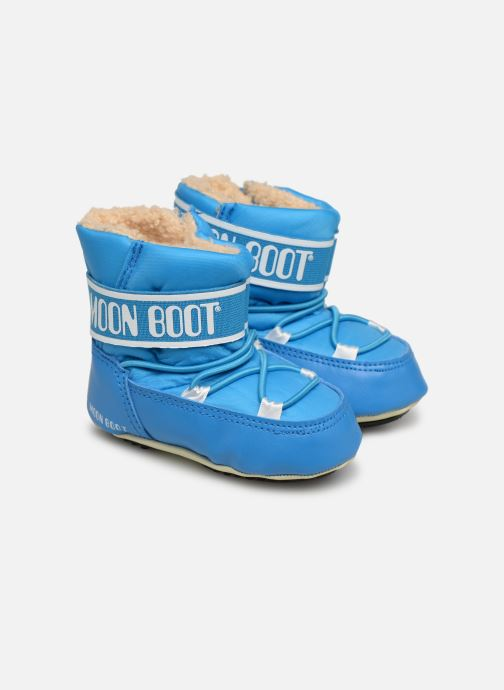 Sport shoes Moon Boot Moon Boot Crib 2 Blue 3/4 view