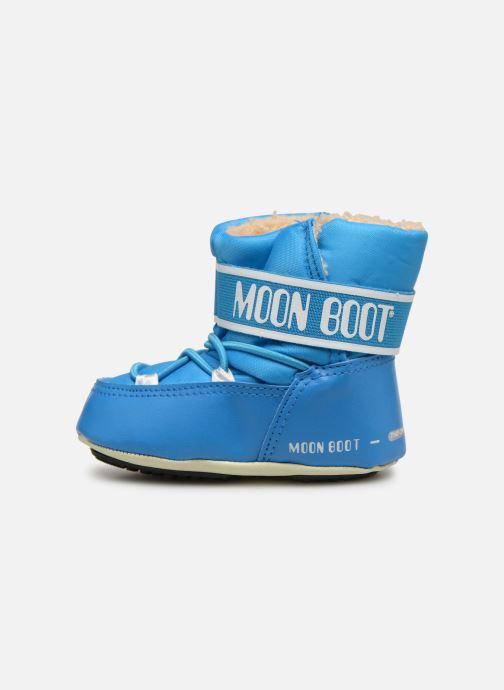 Sportschuhe Moon Boot Moon Boot Crib 2 blau ansicht von vorne