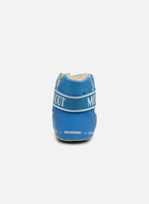 Sportschuhe Moon Boot Moon Boot Crib 2 blau ansicht von rechts