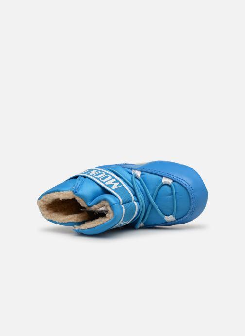 Chaussures de sport Moon Boot Moon Boot Crib 2 Bleu vue gauche
