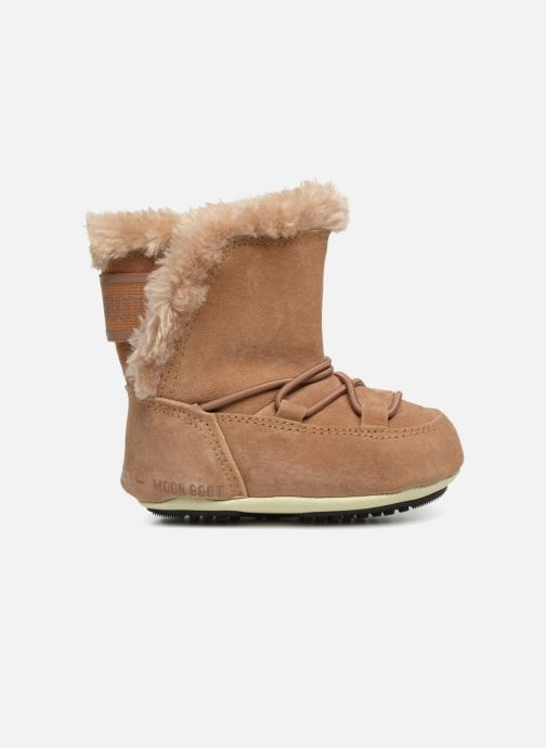 Sport shoes Moon Boot Moon Boot Crib Suede Beige back view
