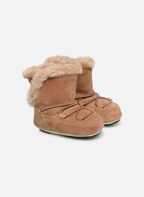 Chaussures de sport Moon Boot Moon Boot Crib Suede Beige vue détail/paire