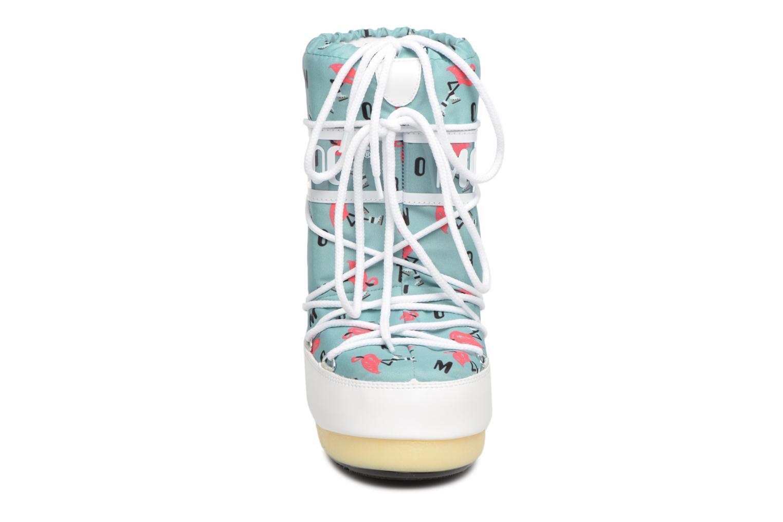 Sportschuhe Moon Boot Moon Boot Flamingo grün schuhe getragen