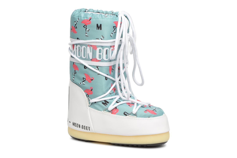 Sportschuhe Moon Boot Moon Boot Flamingo grün detaillierte ansicht/modell