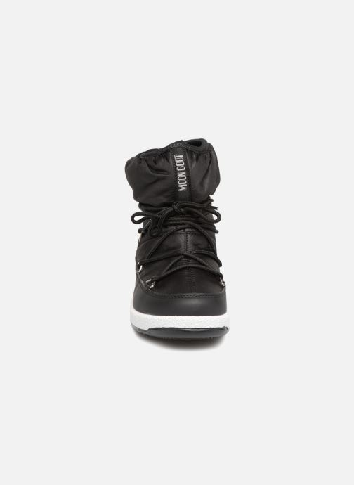 Chaussures de sport Moon Boot Moon Boot W,E JR Girl Low Nylon WP Noir vue portées chaussures