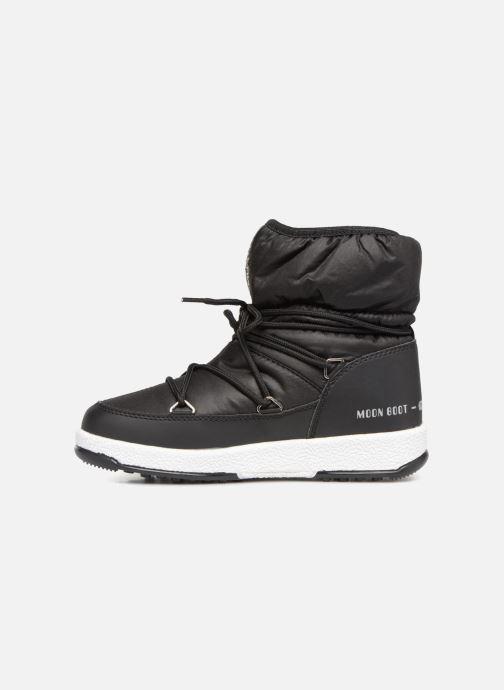 Zapatillas de deporte Moon Boot Moon Boot W,E JR Girl Low Nylon WP Negro vista de frente