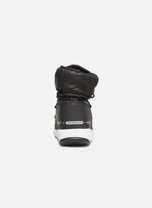 Chaussures de sport Moon Boot Moon Boot W,E JR Girl Low Nylon WP Noir vue droite