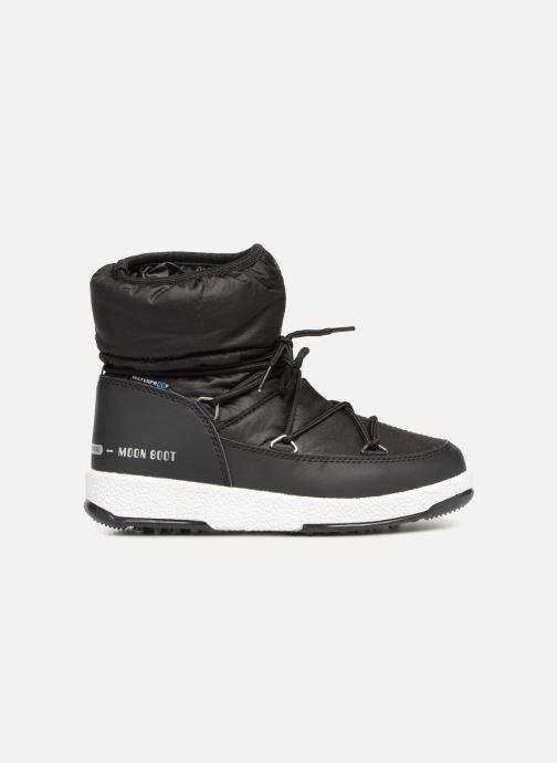 Chaussures de sport Moon Boot Moon Boot W,E JR Girl Low Nylon WP Noir vue derrière
