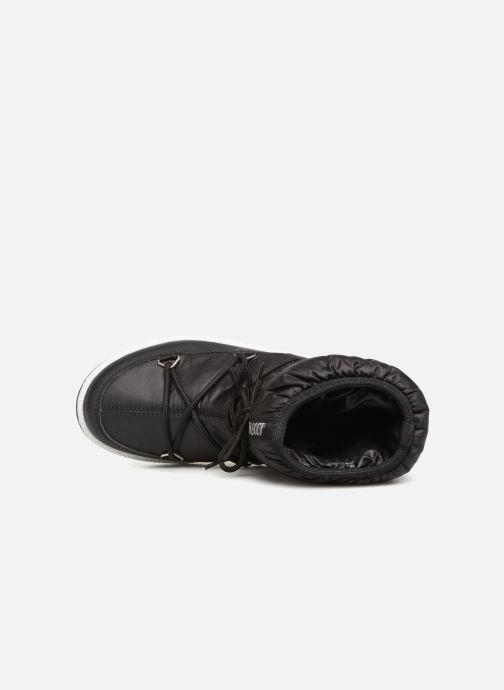 Zapatillas de deporte Moon Boot Moon Boot W,E JR Girl Low Nylon WP Negro vista lateral izquierda