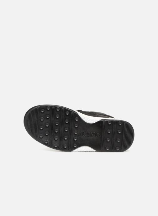 Chaussures de sport Moon Boot Moon Boot W,E JR Girl Low Nylon WP Noir vue haut