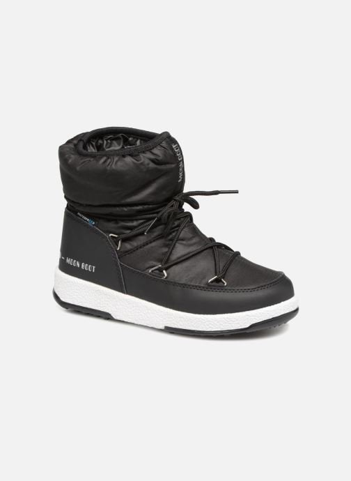 Sport shoes Moon Boot Moon Boot W,E JR Girl Low Nylon WP Black detailed view/ Pair view