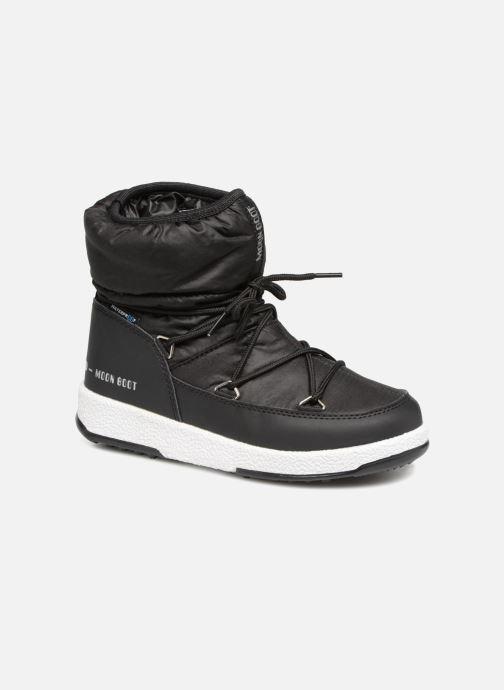 Sportschuhe Moon Boot Moon Boot W,E JR Girl Low Nylon WP schwarz detaillierte ansicht/modell