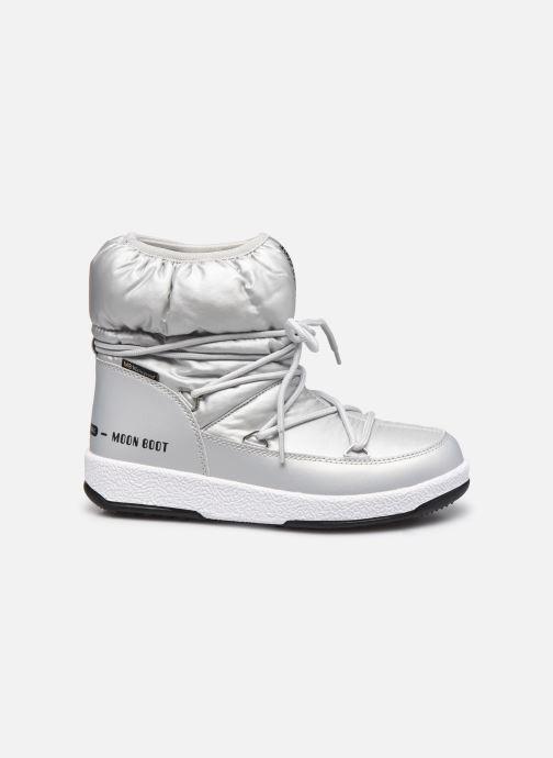 Chaussures de sport Moon Boot Moon Boot W,E JR Girl Low Nylon WP Argent vue derrière